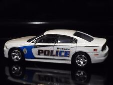 WARSAW NC CITY Police car 1/43 Scale 2014 Dodge Charger Slicktop
