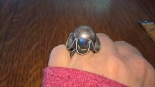 Antique Sterling Silver perfume ring