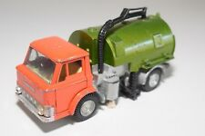 # DINKY TOYS 451 JOHNSTON ROAD SWEEPER ORANGE GREEN EXCELLENT CONDITION