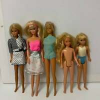 Lot of 5 vintage Barbie doll Skipper lot