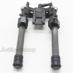 NEW LRA V10 Light Bipod Long Range Rifle Hunting Carbon Fiber With 20mm QD Mount