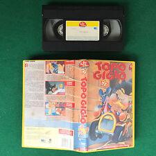 VHS - TOPO GIGIO 2 sigla di CRISTINA D'AVENA (ITA 1988) BIM BUM BAM Video no dvd