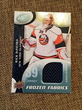 2009-10 Upper Deck Ice Frozen Fabrics #FR-RD Rick DiPieteo NY Islanders