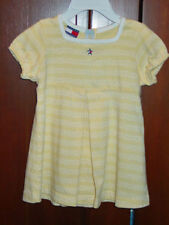 TOMMY HILFIGER INFANT GIRLS YELLOW SUMMER DRESS  SIZE 6 - 12 MONTH