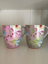 New Pip Studio Amsterdam Large Coffee/Tea Mugs Set Of 2