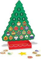 TREE ADVENT CALENDAR COUNTDOWN TO CHRISTMAS Melissa & Doug Wooden Magnetic Toy