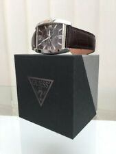 Genuine Guess WATCH Mens Day & Date RRP £250 Great Gift! Boxed (a76