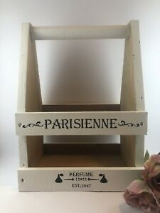 Upcycled Shabby Chic French Farmhouse Wooden Perfume Caddy