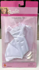 2000 Barbie Bridal Fashions Wedding Dress, Veil, & Shoes in Package ~NEW~