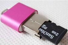 Newly Mini High Speed USB 2.0 Micro SD TF T-Flash Memory Card Reader Adapter