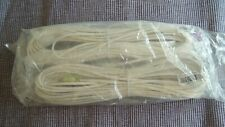 BOSE WHITE REAR SPEAKER CABLES x 2x15 Metre for JEWEL CUBES - NEW SEALED.GENUINE