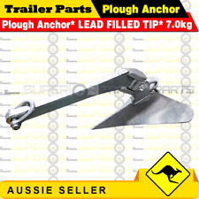 Superior Plough Anchor 7.0kg 15lb suit 7 m Boat Fishing Boating Quality