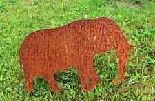 EDELROST Elefant Dickhäuter Rost Gartendeko Edel Metall Eisen Deko Design NEU 1A