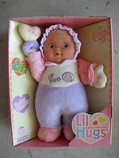 "NEW Berenguer Lil Hugs Vinyl Cloth Baby Girl  Doll in Box 11"" #2"
