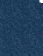 Filigree Echo Tonal cotton fabric BTY Timeless Treasures Denim Blue