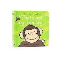 Thats Not My MonkeyTouchy Feely Board Book By Fiona Watt & Rachel Wells