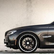 """20X8.5/20X10 BLACK MRR GT1 20"""" Wheels For BMW E92 328 335 COUPE Rims Set (4)"""