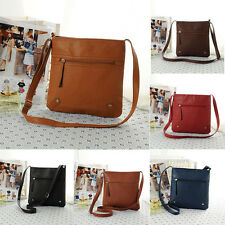 Luxury Fashion Womens Leather Satchel Cross Body Shoulder Messenger Bag Handbag