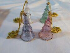 Lenox Crystal Glass Christmas Tree Ornaments
