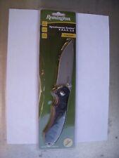 "Remington Fast 2.0 Sportsman Folding Knife 3.625"" Blade Black #11617"