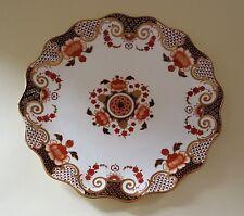Wedgwood gold & brown rim vintage Victorian antique Imari design plate