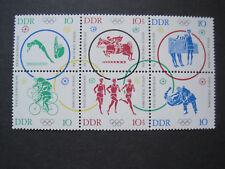 DDR MiNr. 1039-1044 Sechserblock postfrisch** (DD 1039-44)