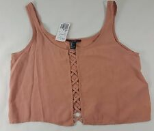 Forever 21 Womens Mauve Cami Tank Top S Small NWT
