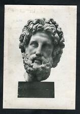 C1970s Art Card: Bust of Asklepios, British Museum