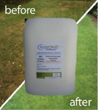 5 LTS IVISONS LIQUID LAWN FERTILISER FEED WITH NATURAL SEAWEED COVERS 1,000M2