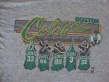 Vintage NBA Boston Celtics 80's Danny Ainge Larry Bird Soft Paper thin T Shirt L