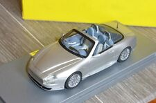 MASERATI 2004 SILVER 50TH ANNIVERSARIO BBR GAS10018D 1/43 GASOLINE MADE IN ITALY