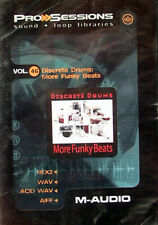M-Audio Pro Session Vol. 46: Discrete Drums: more funky beats mercancía nueva en lámina