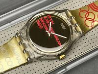 SWATCH UHR ** LZ103 - MOSCOW 1980 - LADY OLYMPIA ** NEU !