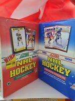 1990 & 1991 Score Hockey Box Break