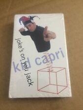 KID CAPRI JOKES ON YOU JACK FACTORY SEALED CASSETTE SINGLE C38