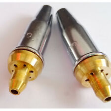 2pcs Propane Gas Cutting Nozzle Tips 2# for G07-30 torch Seperated Style