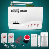 Wireless Remote Control Wifi GSM Home Security Burglar Alarm System Sensor Lot