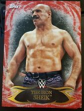 2015 Topps WWE Undisputed RED #65 The Iron Sheik NrMint-Mint