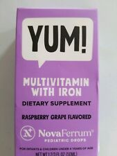Yum! Multi-Vitamin With Iron For Infants and Children Under 4 Pediatric Drops