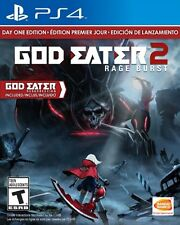 God Eater 2: Rage Burst Day One Edition PS4 - NEW & SEALED!