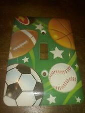 Amerelle Powder Coated Sports Switch Plate Cover