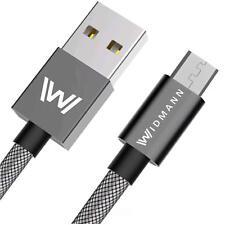 0,5 Meter Widmann Micro USB Kabel Datenkabel USB Ladekabel für Samsung S5, S6 ✔