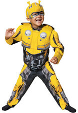Transformers Bumble Bee Muscle Costume for Kids Halloween Jumpsuit Disguise  2T