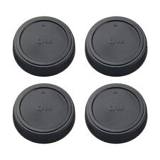 4*Rear lens cap cover for Olympus 4/3 OM4/3 OM 43 OM43 lens replacement