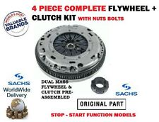 FOR AUDI A3 1.6TDi STOP START 2009 > NEW DUAL MASS FLYWHEEL AND CLUTCH KIT