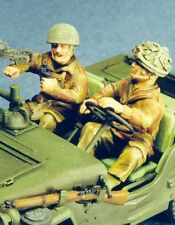 Resicast 1:35 Airborne Recce Crew for Jeep (2 Figures) #355553