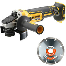 Dewalt DCG405N 18V XR Brushless Angle Grinder 125mm With 1 Extra Diamond Blade