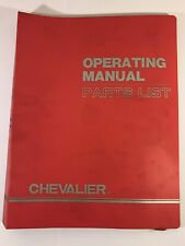 Chevalier 618C Operating Manual Hand Feed Surface Grinder Size: 612.618