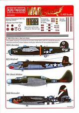 Kits World Decals 1/48 U.S.A.A.F. GENERAL STENCILS & WARNING MARKINGS