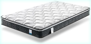 Twin XL Mattress, Inofia 8 Inch Hybrid Pocket Spring Foam Bed Mattress Twin XL